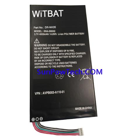Barnes & Noble Nook HD 7 Battery BNA-B0002 AVPB003-A110-01 ABUIABACGAAgttOPvgUo1K2u7wUw4AM44AM