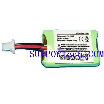 Plantronics CS540 Battery 86180-01