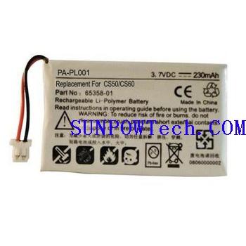 Plantronics CS50 Battery 64327-01 , 65358-01
